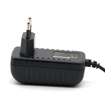 Cargador Universal LEICKE ULL 5V 1A 5 Vatios|Clavija de 5,5*2,5mm |Para D-Link Router,USB Hub, cámaras digitales, CCTV, GPS, DVD portátiles, discos ...