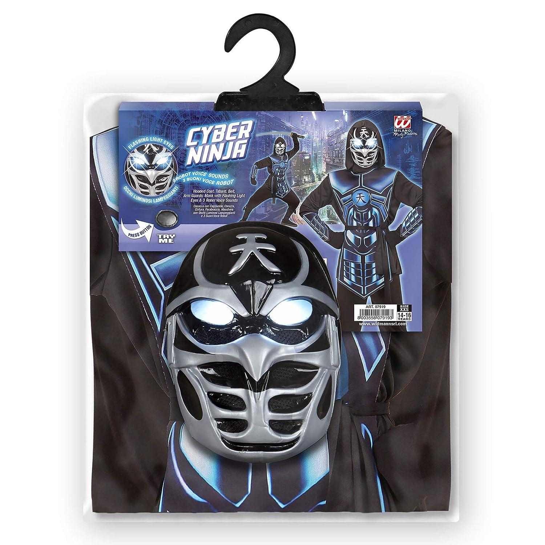 WIDMANN 07916 infantil Disfraz cyber Ninja, XX de Small ...