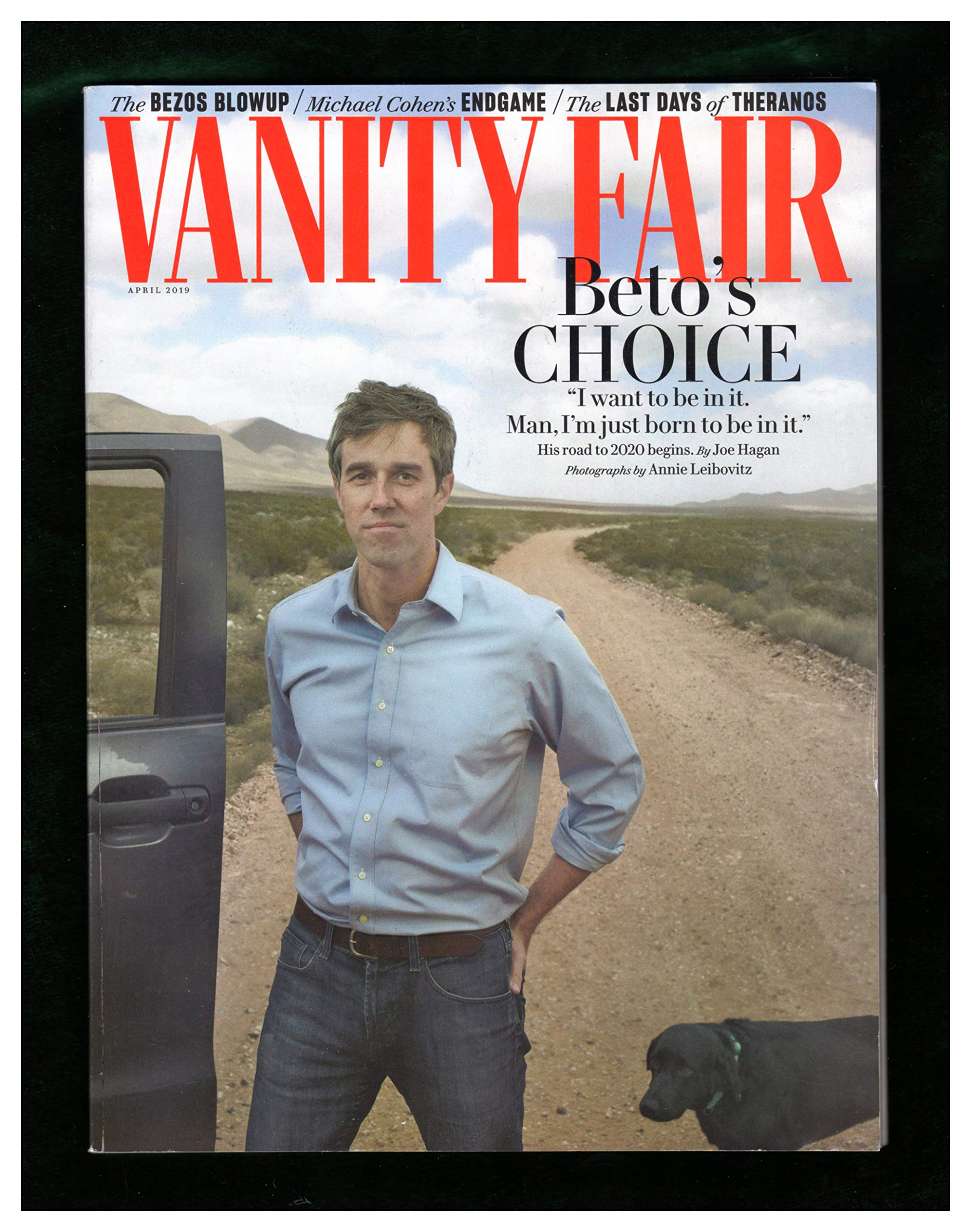 Vanity Fair April 2020.Vanity Fair April 2019 Beto O Rourke Cover Bezo S