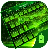 Green light Theme&Emoji Keyboard