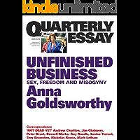 Quarterly Essay 50 Unfinished Business: Sex, Freedom and Misogyny