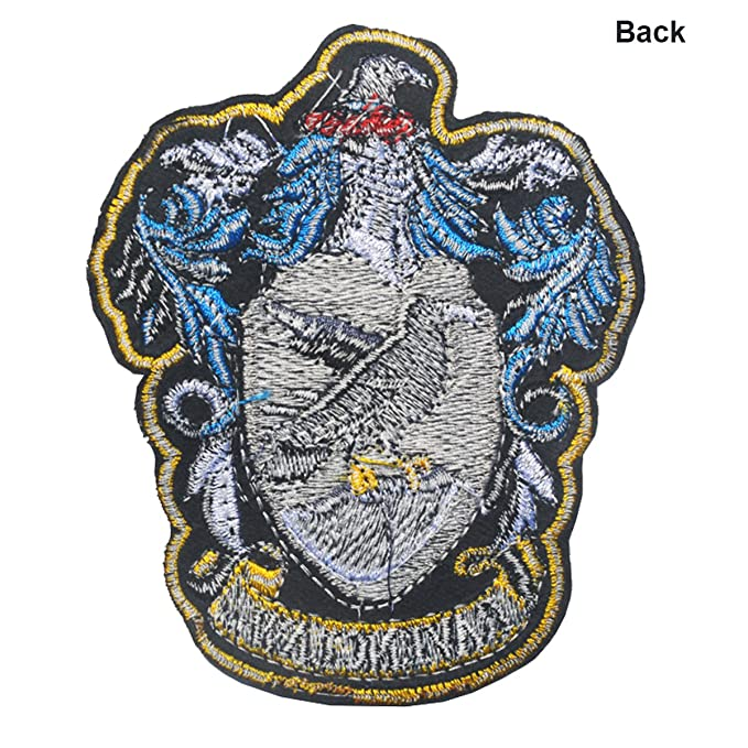 bd241012bd1 Harry Potter House of Ravenclaw and Gryffindor Hogwarts Crest Patch Full  Color Iron-On Patches Applique ...