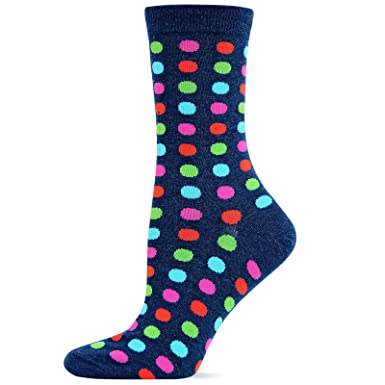 Hot Sox Women/'s Classic Large Dot Socks