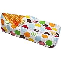 KooKyKooby 100% Cotton Orange Color Baby Quilt/Sleeping Bag Cum Baby Carry Bag 64 * 41 cms