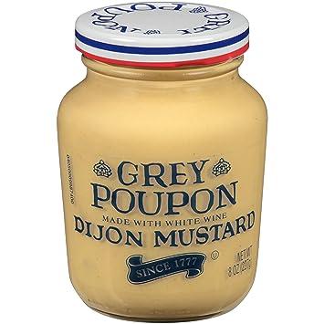 amazon com grey poupon dijon mustard 8 oz jar pack of 12