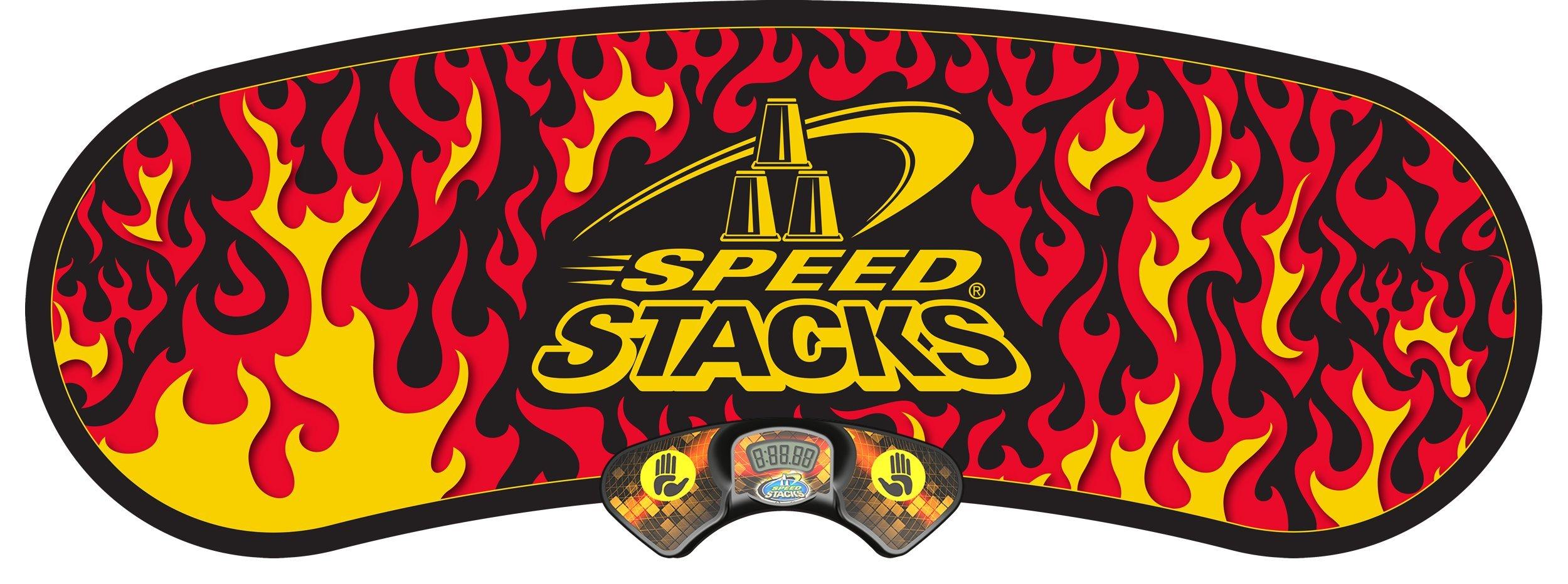 Speed Stacks GX STACKMAT - Black Flame