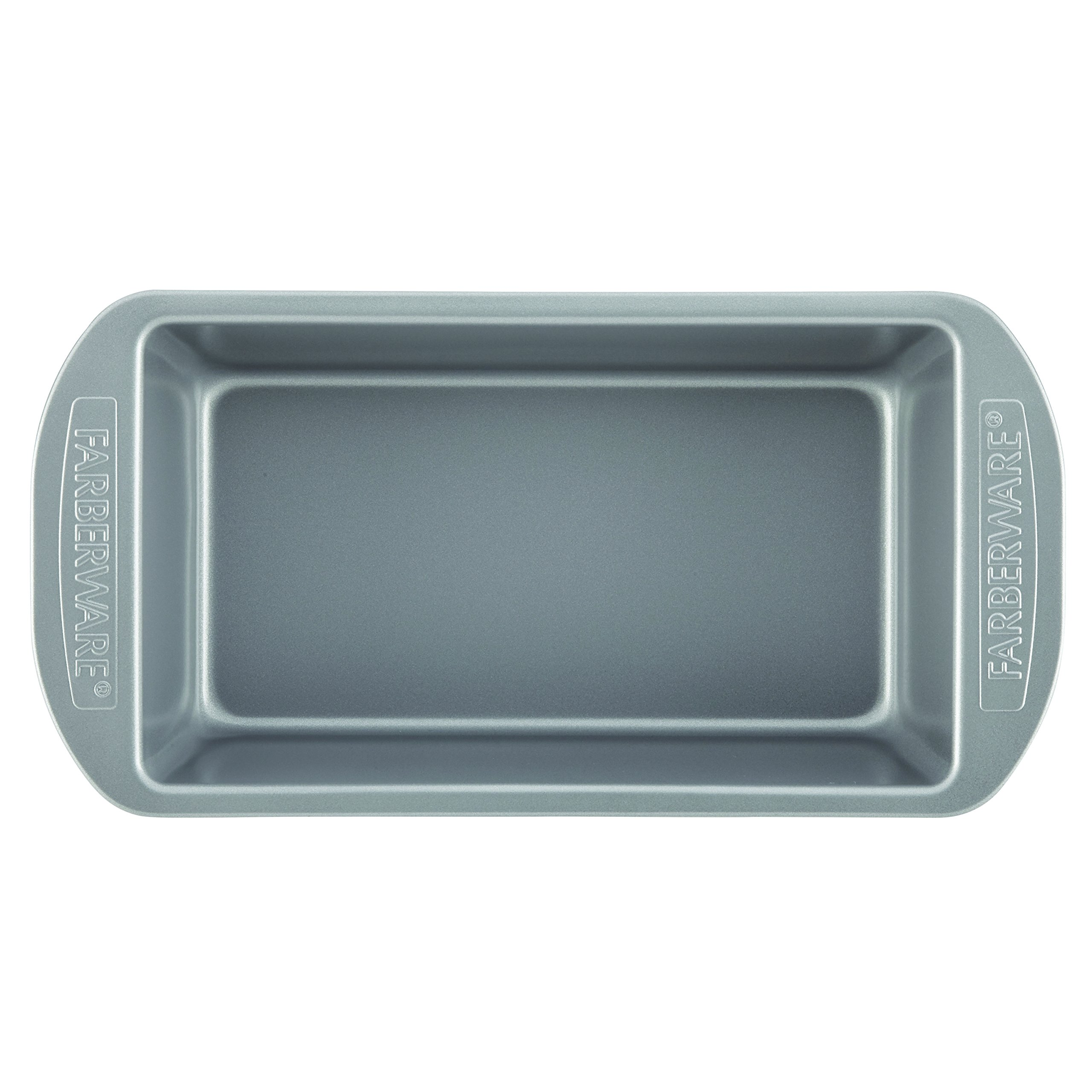Farberware Nonstick Bakeware Bread and Meat Loaf Pan Set, 2-Piece, Gray by Farberware (Image #3)