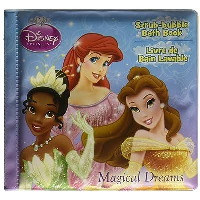 Disney Princess Scrub-bubble Bath Book ~ Magical Dreams: Toys & Games