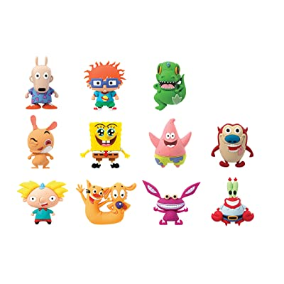 "Nickelodeon Classics 3D Foam Collectible Blind Bag, Multi, 3"": Toys & Games"