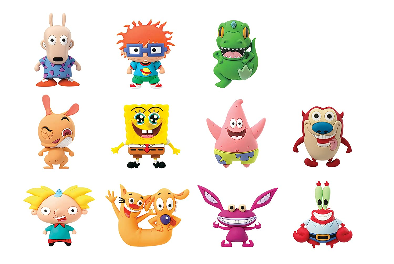 amazon com nickelodeon classics 3d foam collectible blind bag