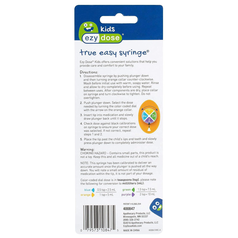 Amazon.com: Acu-Life True Easy Syringe (Pack of 3): Health & Personal Care