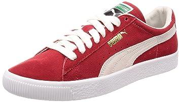 9f1dd9afe6dd80 Puma Suede Ribbon Red  Amazon.de  Schuhe   Handtaschen