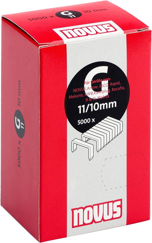 2x 960 Novus Tackerklammern Typ R 50//10 Flachdraht 12,5 x 10 mm  # 042-0467