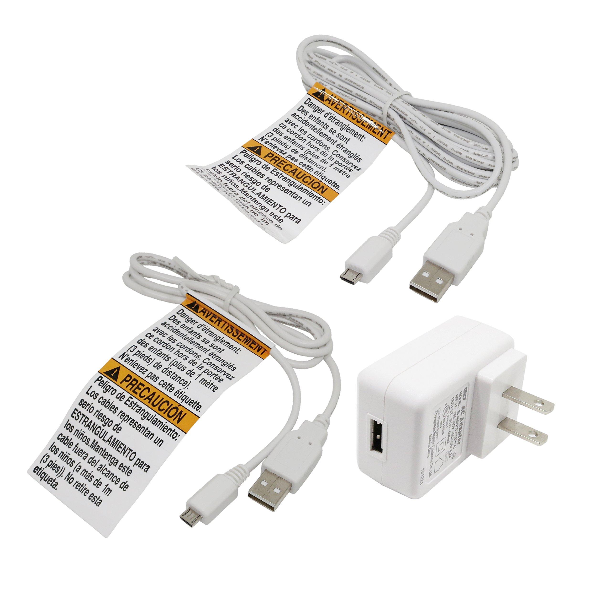 Infant Optics DXR-8 Power Adapter for Monitor Unit v1.61 (100v-240v compatible)