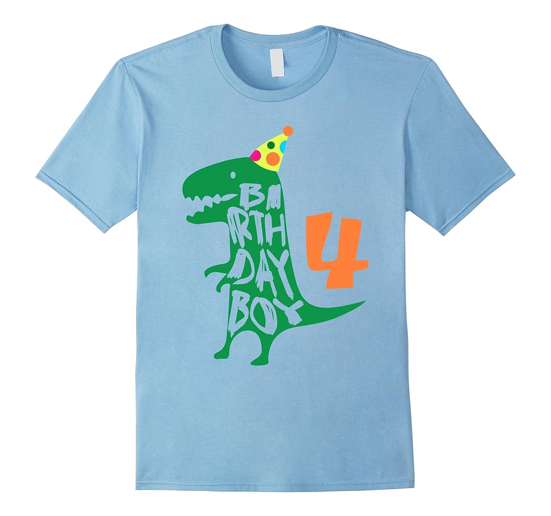 Birthday Boy 4 T Shirt