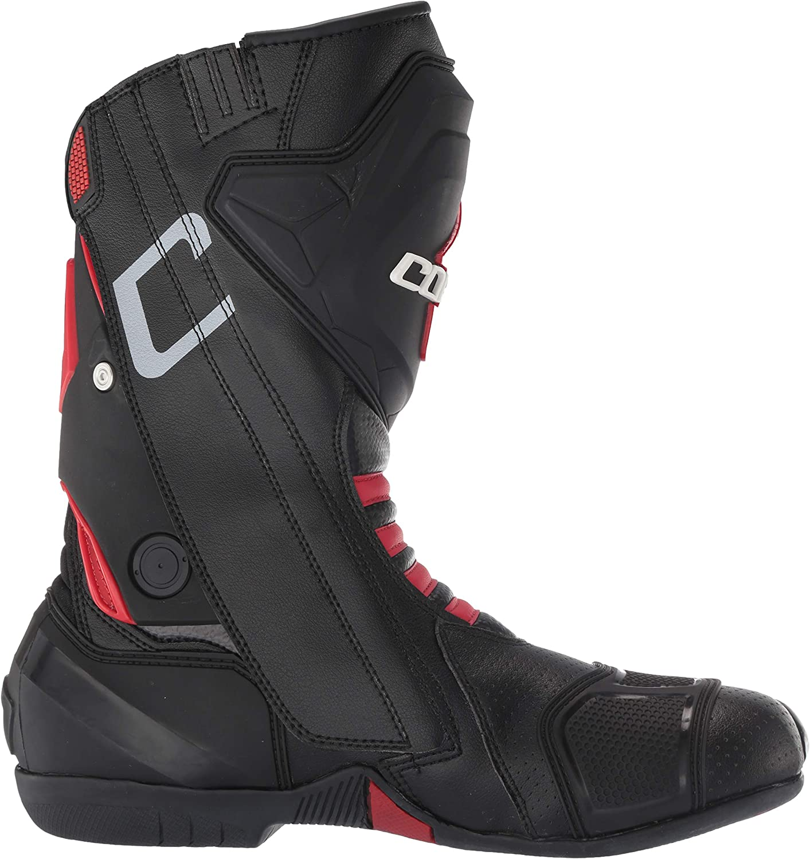 Cortech Mens Impulse Air Road Race Boot Black, Size 8.5