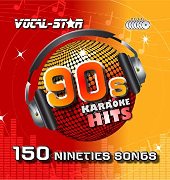 Vocal-Star 90s Karaoke CD CDG Disc Pack 8 Discs CDs 150 Songs: Vocal-Star, Vocal-Star: Amazon.es: Música