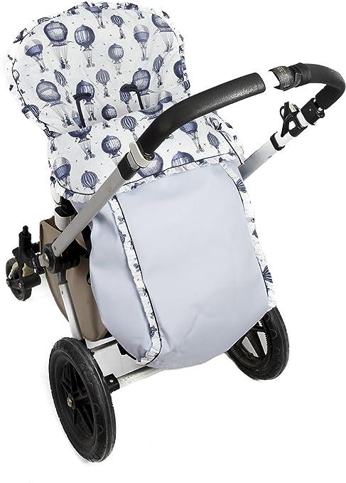 Saco De Entretiempo De Polipiel Universal Para Silla De Paseo Danielstore Color Azul Amazon Es Bebé