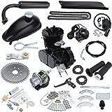"""Ridgeyard 50cc Bike Bicycle Motorized 2 Stroke Cycle Petrol Gas Motor Black Engine Kit Set for Motorized Bicycle 26""""/28"""" Bike"""
