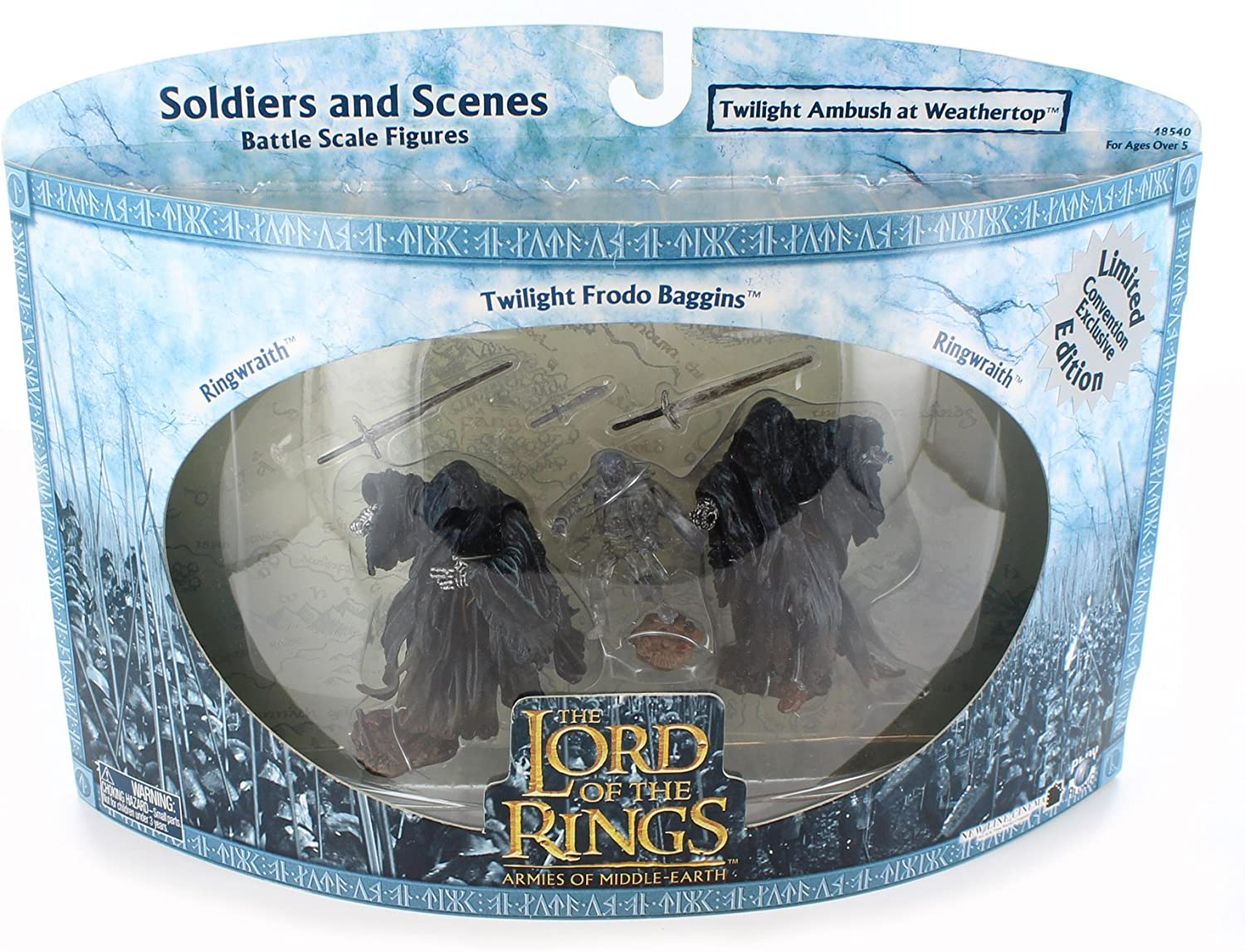 Playset El Señor de los Anillos /Lord Of The Rings- 3- Pack ...