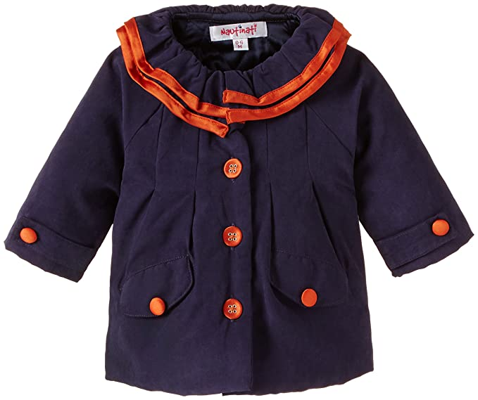a320f6711e85 nauti nati Baby Girl s Jacket  Amazon.in  Clothing   Accessories