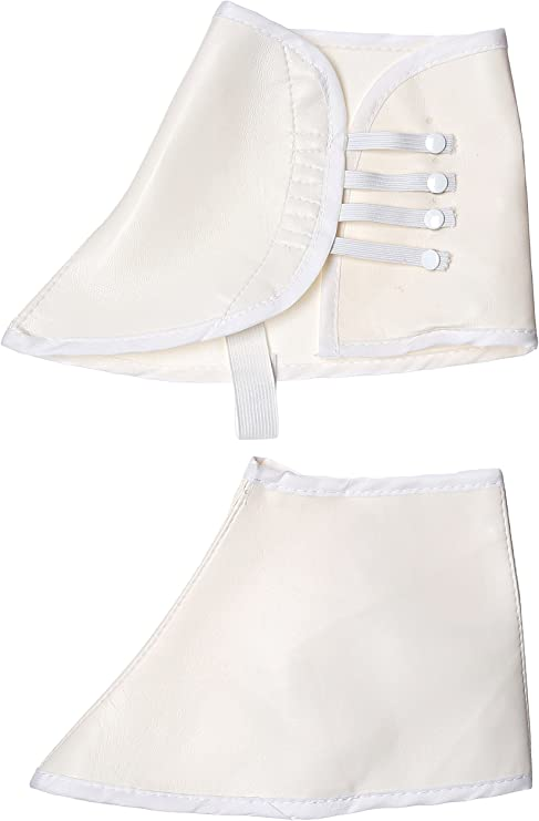 Spats, Gaiters, Puttees – Vintage Shoes Covers Costume Culture Mens Vinyl Spats Deluxe  AT vintagedancer.com