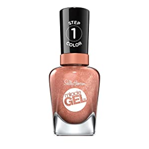 Sally Hansen Miracle Gel Nail Polish, Terra-Coppa, 0.5 Ounce
