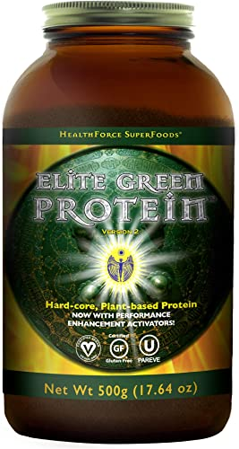 HealthForce SuperFoods Elite Green Protein Elite Mesquite 500 Grams Powder