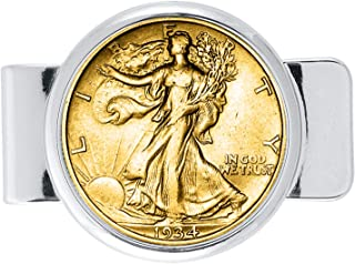 product image for Walking Liberty Half Dollar Coin Money Clip