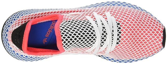 adidas Herren Deerupt Runner Sneaker, Rouge SolaireNoir