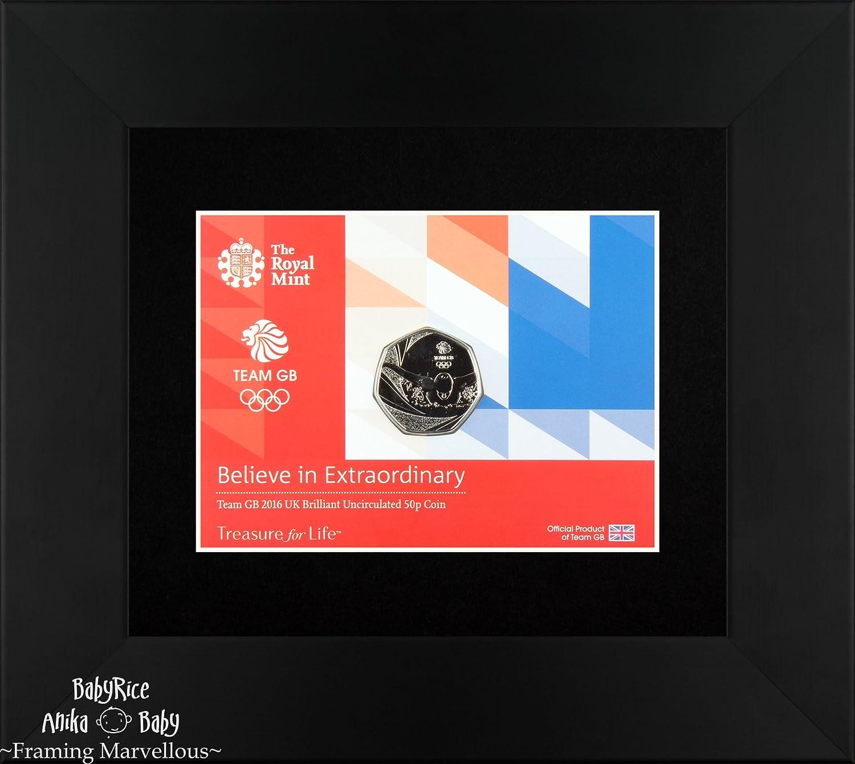 Amazon.de: Anzeigen-Rahmen für Royal Mint Münze Postkarte Münzen und ...