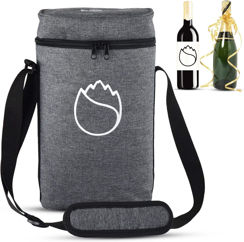 Freshore FR-Bolsa aislante para vino (tela)
