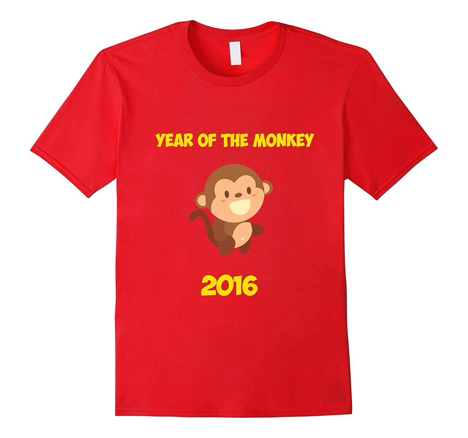 2016 Year of the Red Monkey - Chinese New Year 2016 T-Shirt-Art