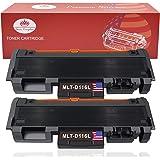 Toner Kingdom 2 Pack Compatible Toner Cartridge For Samsung MLT-D116S MLT-D116L Xpress M2625 M2626 M2825 M2826 M2875 M2876 M2675 M2676 M2675FN M2825DW M2875FW M2825ND Printer Black