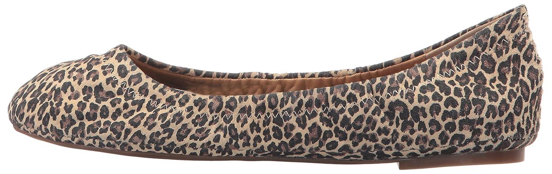 Lucky Lucky Lucky Brand Lk-Emmie Damen Ballerinas braun Sesame Leopard b6141c