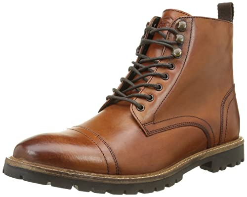Base London Men's Siege Boots Beige Size: 7
