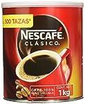Nescafe Clasico Cafe Sol De 1Kg, Café, 1 kilogramos