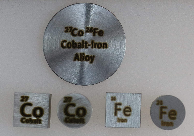 CoFe Alloy Collection Cobalt Iron