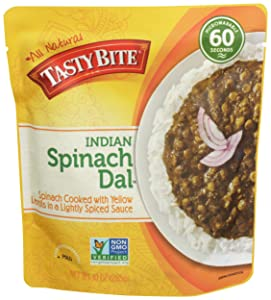 Tasty Bite Spinach Dal Indian Entree, 10 oz