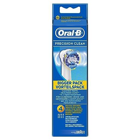 Braun - Precision clean oral b de – cabezales para cepillo de dientes eléctrico (4