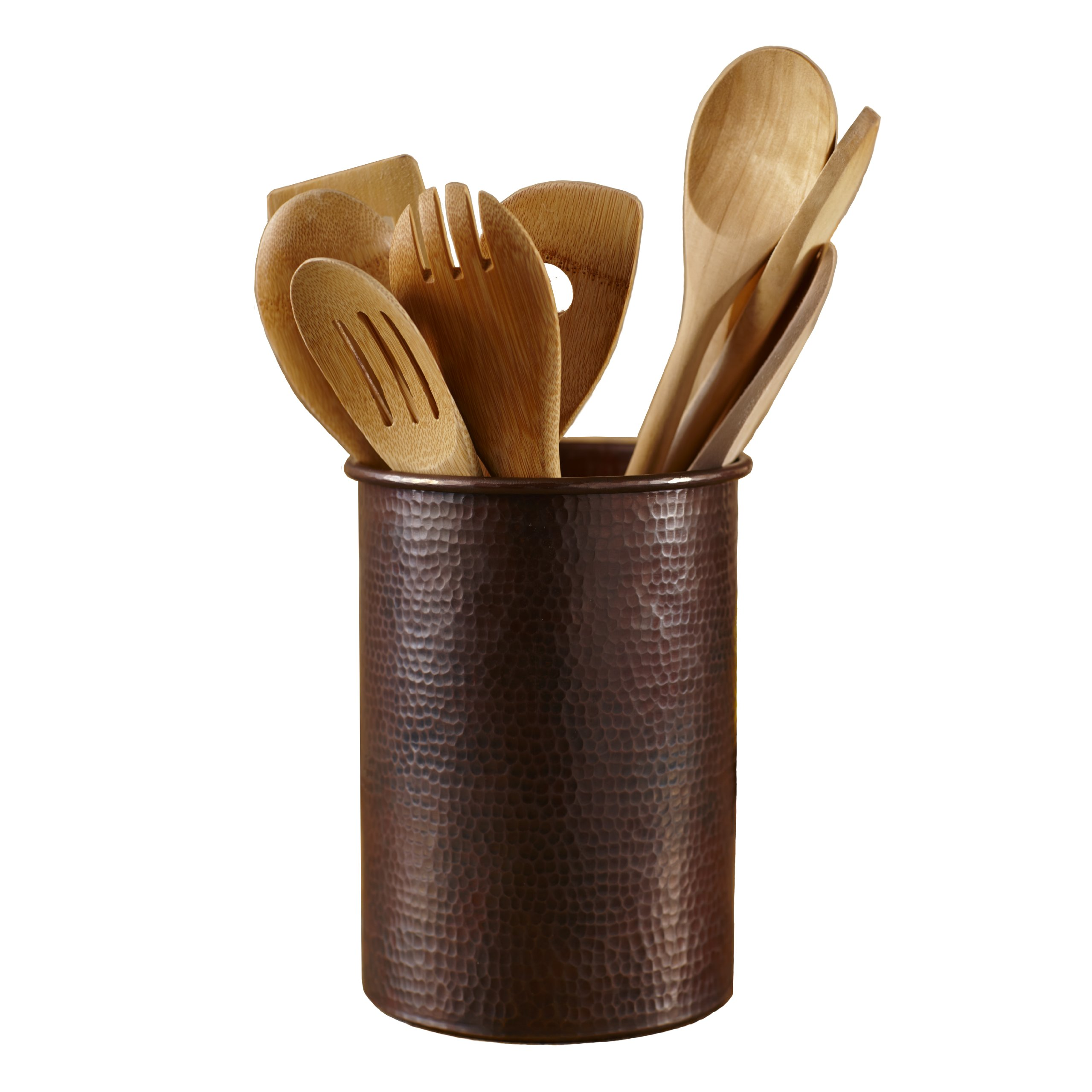 Native Trails Copper Spatula/Utensil Holder, 7 Inch by 6 Inch by Native Trails