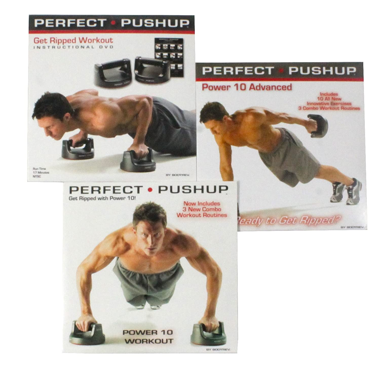 Amazon.com : Perfect Pushup DVD Combo Set : Sports & Outdoors