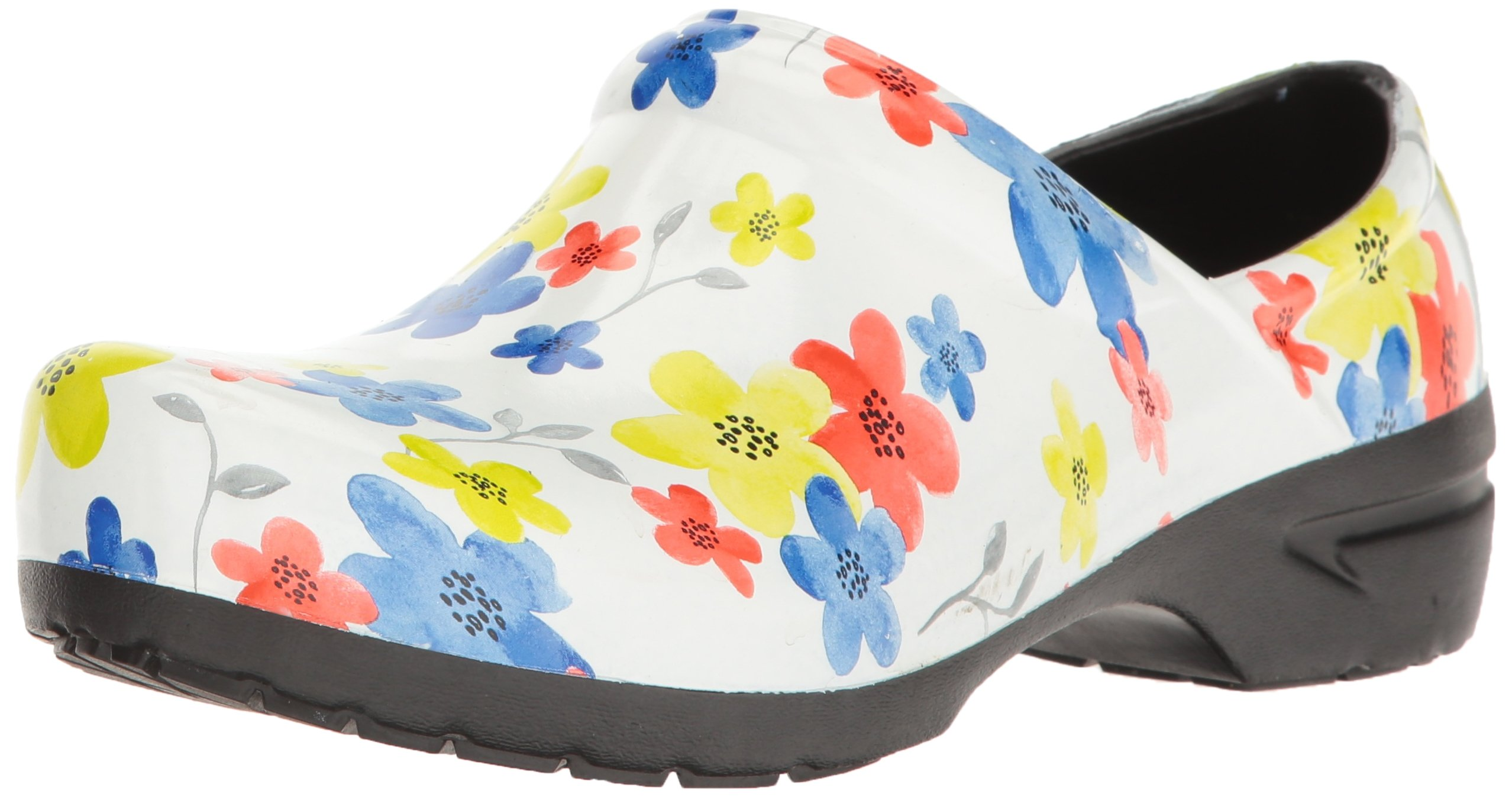 Anywear SRANGEL Closed Back Plastic Clog in Magnificent Meadow
