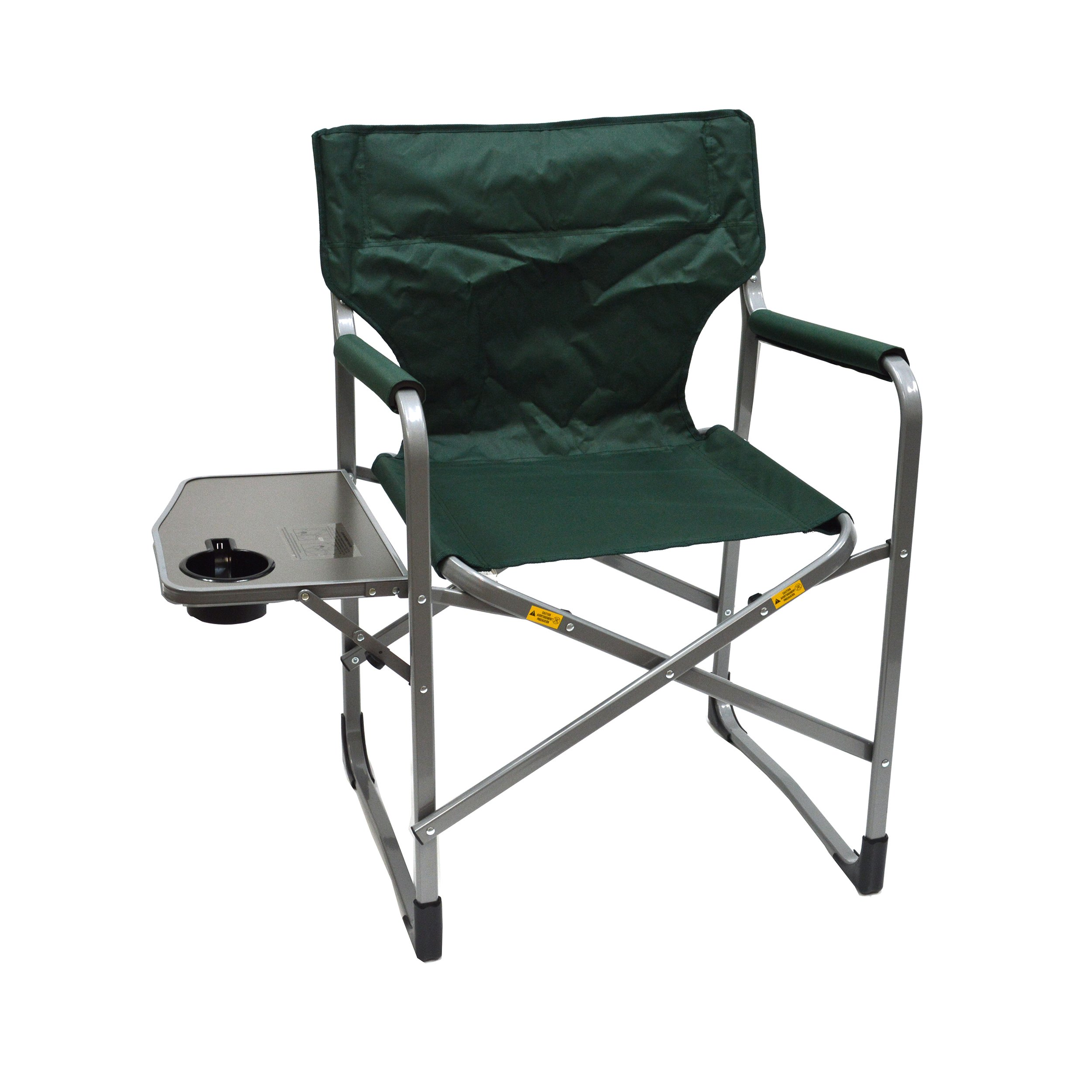 MAC S P O R T S  Deluxe Director's Chair with Side Table (Green)