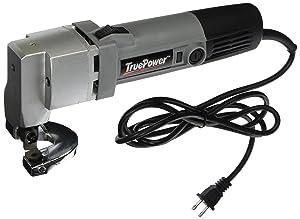 Gino Development 01-0101 TruePower 18 Gauge Heavy Duty Electric Sheet Metal Shear Tin Snips Cutter Nibbler