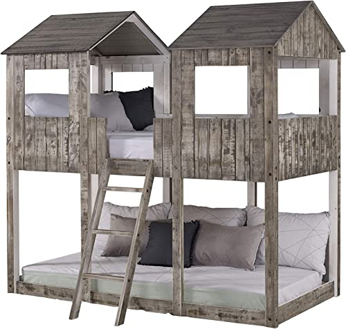 DONCO Twin Tower Bunk Bed BUNKBED