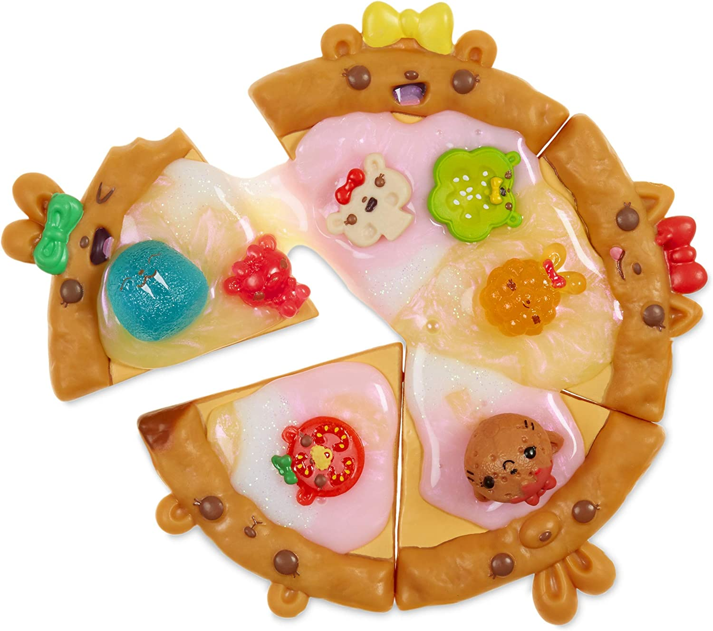 Num Noms Snackables Pizza Theme Kit with Scented Slime Surprises, Multicolor