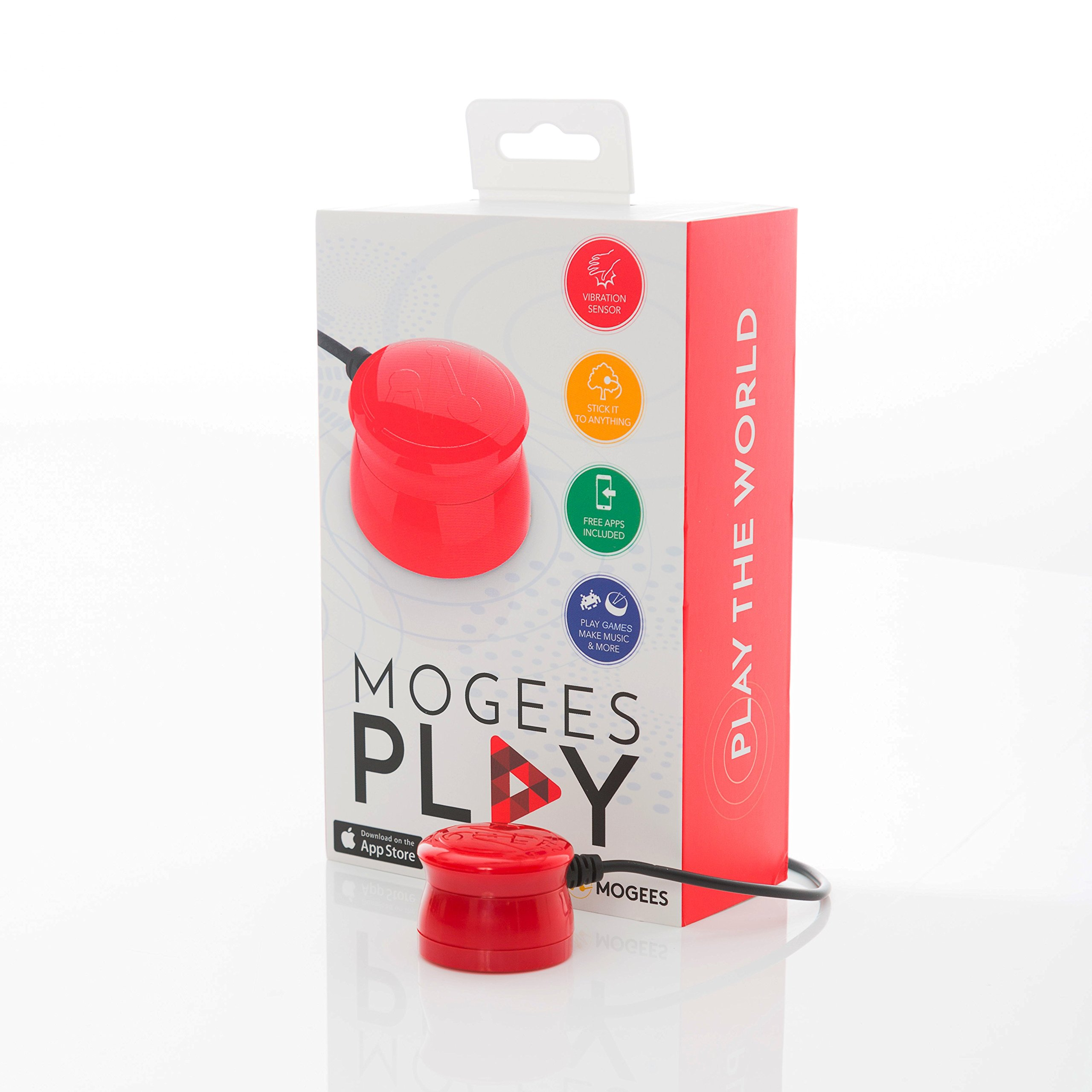 Mogees Play: Learn and Create Music with any Object as Your Instrument. For iPhone, iPad.