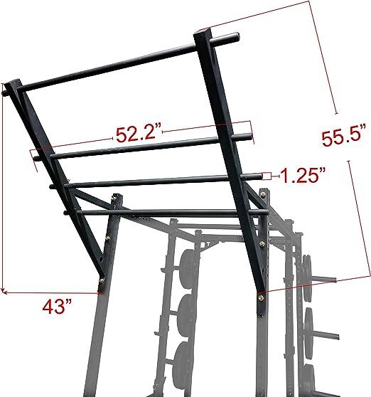 Titan Flying escalera barra de dominadas de flexiones para poder estante
