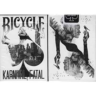 Bicycle Karnival Fatal Playing Cards Poker Size Deck USPCC Custom Limited: Toys & Games